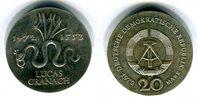 20 Mark Silbergedenkmünze 1972 DDR Gedenkmünze 500. Geburtstag von Luca... 39,00 EUR  +  8,50 EUR shipping