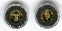 25 Dollars Minigoldmünze 1997 Cook-Inseln Endangered Wildlife Bergziege... 59,00 EUR  +  8,50 EUR shipping