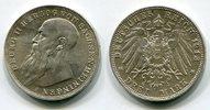 3 Mark Silbermünze 1913 Sachsen Meiningen Kursmünze Herzog Georg vz  225,00 EUR  +  8,50 EUR shipping