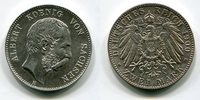 2 Mark Kursmünze Circulation Coin 1900 Sachsen, Saxony German Empire Ku... 125,00 EUR  +  8,50 EUR shipping