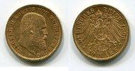 20 Mark Goldmünze 1900 F Württemberg König Wilhelm II. f.vz,  360,00 EUR  +  8,50 EUR shipping