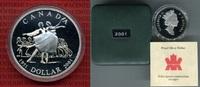 1 Dollar Silbermünze 2001 Kanada 50 Jahre Ballett in Kanada - Queen Eli... 25,00 EUR  +  8,50 EUR shipping