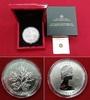 50 Dollar Silbermünze 2013 Kanada Maple Le...