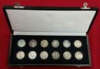12 Medaillen 1967 DDR 450 Jahre Reformatio...