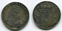 2/3 Taler 1691 ICS Brandenburg Preußen Ber...