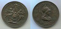 Bronzemedaille 1884 Österreich Teplitz Pre...