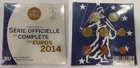 Kursmünzensatz 2014 Frankreich KMS 1 Cent ...