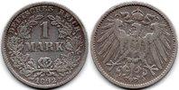 1892 F Deutsches Reich 1 Mark 'Großer Adler' Deutsches Reich 1892 F SS... 613 руб 9,00 EUR  +  579 руб shipping