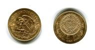 20 Pesos Goldmünze 1959 Mexiko  fast Stemp...
