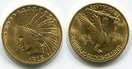 10 Dollars 1915 USA Indianerkopf, Indian H...
