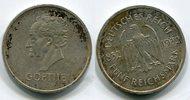 5 Mark Die Seltenste Weimar Münze 1932 A W...