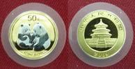 50 Yuan 1/10 Unze Gold teilplatiniert 2009...