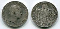 2 Taler 1841 Preußen Doppeltaler Vereins-D...