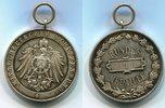 Silbermedaille 1906 Schützenmedaille Bunde...