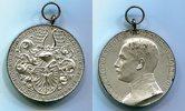 Versilberte Medaille 1908 Nordhausen 16. T...