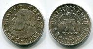 5 Reichsmark 1933 G III. Reich 450. Geburt...