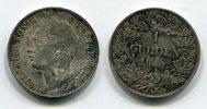 1 Gulden 1841 Württemberg Wilhelm König vo...
