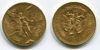 50  Pesos Gold 1925 Mexico Kursmünze Cente...