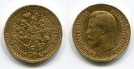 7,5 Rubel 1897 Russland Russia Nikolaus II...