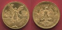 50  Pesos Gold 1947 Mexico Kursmünze prfr.