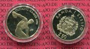 50 Tala Goldmünze 1993 Western Samoa Samoa I Sisifo Samoa 50 Tala Olymp... 199,12 EUR  +  8,50 EUR shipping