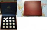 250 bis 1000 Francs CFA Silber ohne Jahr T...