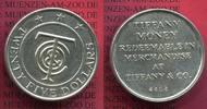 USA 25 Dollars Tiffany Money Token Ag ohne Jahr USA Tiffany & Co 25 Dol... 250,00 EUR  +  8,50 EUR shipping