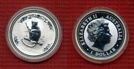 1 Dollar Lunar Serie 1 1 Unze 2004 Australien, Australia Australien 1 D... 85,00 EUR  zzgl. 4,20 EUR Versand