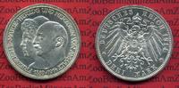 3 Mark Silber Kaiserreich 1914 Anhalt Anhalt 3 Mark 1914, Silberhochzei... 60,00 EUR  +  8,50 EUR shipping