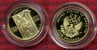 5 Dollars Gold Comemmorative Coin Münze 19...