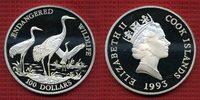 100 Dollars Silber 5 Unzen 1993 Cook-Insel...