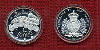 10000 Lire  Silber 2001 San Marino San Mar...