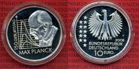 Bundesrepublik Deutschland, Germany FRG 10 Euro Silbermünze Commemorative Coin Bundesrepublik Deutschland 10 Euro 2008, 150.Geburtstag Max Planck