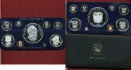 Kursmünzensatz bis 20 Balboas Silber 1975 ...