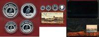 1, 2, 5, 10 Dollars Silbermünzen 2003 Aust...