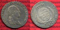 2/3 Taler 1817 Sachsen Königreich Fr. Augu...