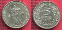 5 Mark Weimarer Republik Silber 1925 D Wei...