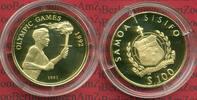 100 Tala Gold 1991 West Samoa West Samoa 1...