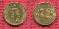 20 Dollars USA Double Eagle St. Gaudens 19...