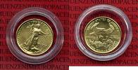 USA 5 Dollars Goldmünze Golden Eagle 1/10 USA 5 Dollars Gold Eagle 1999 1/10 Unze Stgl.