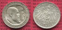 3 Mark Silber Kaiserreich 1911 Württemberg...
