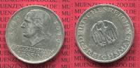 5 Mark Silber Gedenkmünze 1929 A Weimarer Republik Deutsches Reich Weim... 110,00 EUR  zzgl. 4,20 EUR Versand