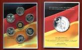 6 x 10 Euro Silber + eine Goldmedaille 201...