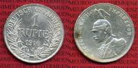 1 Rupie Silbermünze 1910 J DOA Deutsch Ostafrika Deutsch Ost-Afrika 1 R... 90,00 EUR  +  8,50 EUR shipping