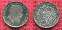 2 Mark Silber  1907 Baden  Baden 2 Mark 1907, Auf den Tod von Großerzog... 175,00 EUR  +  8,50 EUR shipping