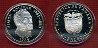 20 Balboas Silbermünze 1974 Panama Panama ...
