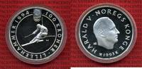 100 Kronen Silber 1993 Norwegen Norwegen 1993 100 Kroner Silber Lilieha... 54,00 EUR  +  8,50 EUR shipping