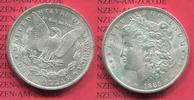 USA 1 Dollar Morgan Typ USA 1885 O 1 Dollar Morgan Typ Silber