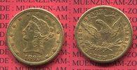 10 Dollars Goldmünze Eagle Coronet Head 1893 S USA USA 10 Dollars Liber... 645,00 EUR640,00 EUR  +  8,50 EUR shipping