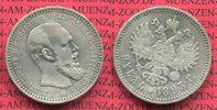 1 Rubel Alexnader III. 1893 Russland Russia Russland 1 Rubel Alexander ... 99,00 EUR  +  8,50 EUR shipping